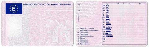 permiso y licencia de conducción