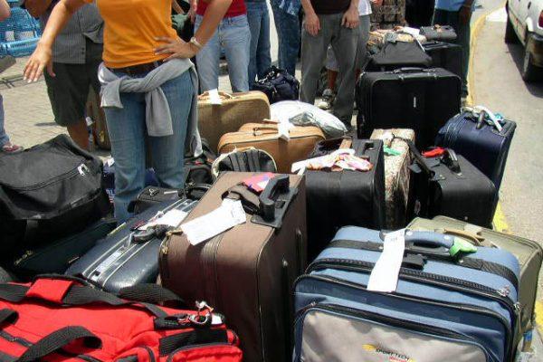 mercancías en el transporte de viajeros